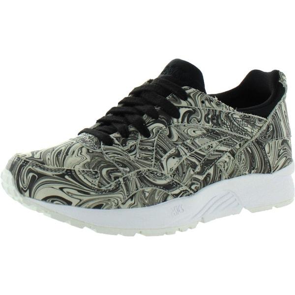 Asics Mens Gel-Lyte V Fashion Sneakers Lifestyle Marble - White/Black - 5 Medium (D)