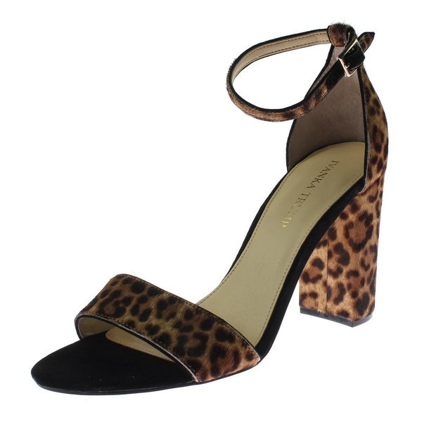 ca45ccc9bb52 Shop Ivanka Trump Womens Kloverly Dress Sandals Cow Hair Animal Print -  Free Shipping Today - Overstock - 19436808