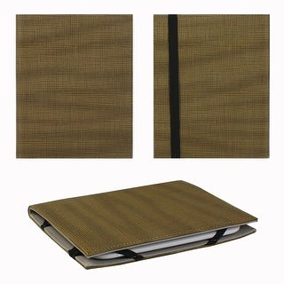 """JAVOedge Cross Grain Pattern 6"""" Universal eReader Book Case for the Nook Touch, Glowlight, Kobo Glo, Touch, Kindle"""