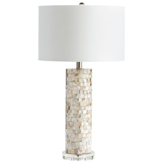 Cyan Design 5309 West Palm 1 Light Table Lamp - mother of pearl