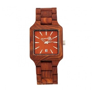 Earth Wood Arapaho Unisex Quartz Watch, Wood Band