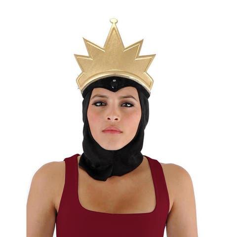 Disney Snow White Evil Queen Crown Costume Headpiece Adult - Gold