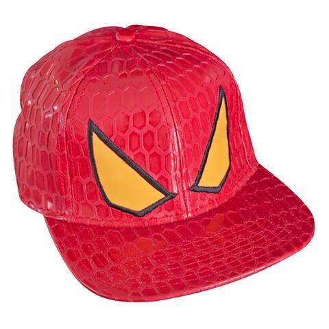 The Amazing Spider-Man Men's Snapback Red Cap