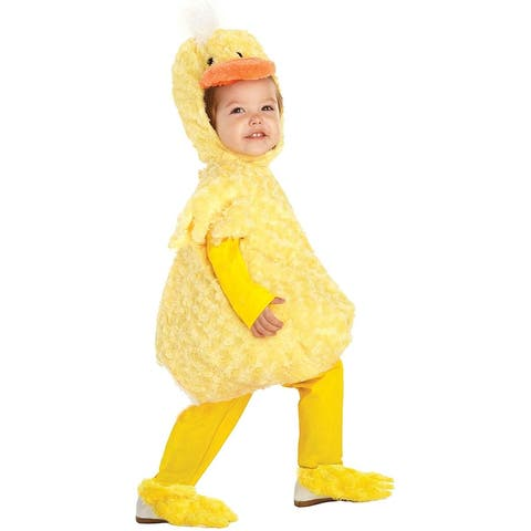 Baby's Duck Belly-Babies Costume - Yellow