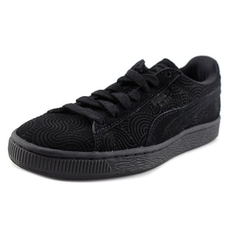 Puma Suede Classic +    Round Toe Leather  Sneakers