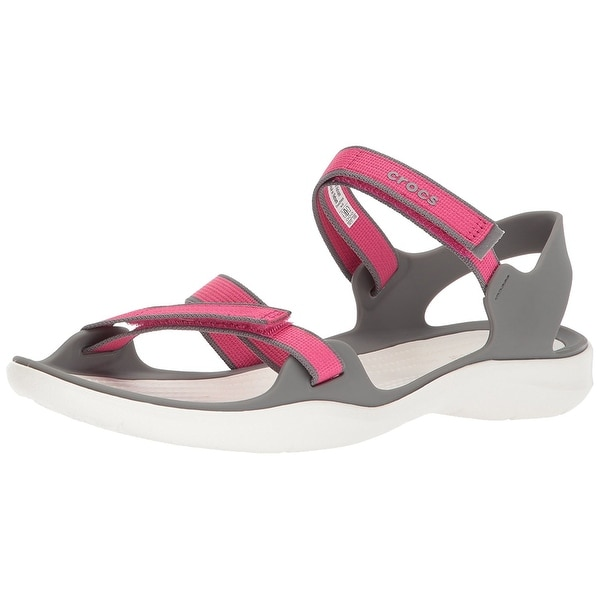 Crocs Women's Swiftwater Webbing Sandal - 5