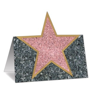 """Club Pack of 144 Hollywood Celebrity Awards Night Star Place Cards 4.25"""""""