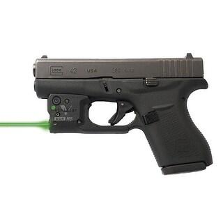 Viridian r5-g26/27 viridian reactor 5 green laser sight for glock 26/27 featuring ecr includes hybrid belt holster