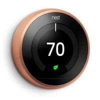 Nest Learning Thermostat (3rd Generation, Copper)