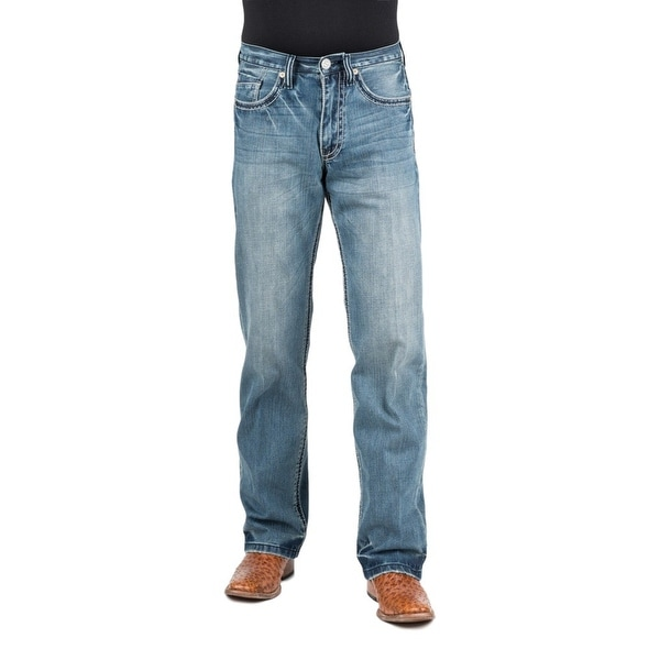 Stetson Western Denim Jean Men 1312 Modern Fit Med