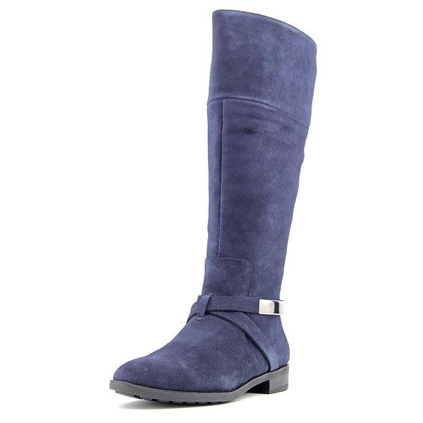Alfani Egila Wide Calf Round Toe Suede Knee High Boot
