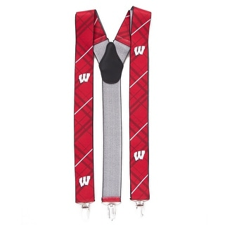 University of Wisconsin Badgers Suspenders