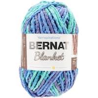 Bernat Blanket Big Ball Yarn-Ocean Shades