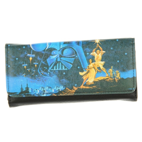 Loungefly Star Wars Luke & Leia Photo Real Wallet - One Size Fits most