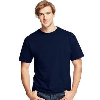 Hanes Men's TAGLESS ComfortSoft Crewneck T-Shirt