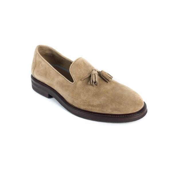Suede Tasselled Loafers Brunello Cucinelli p0GqF5N00