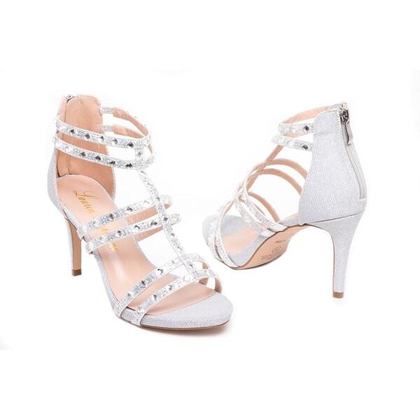 Embellished Gladiator Heel