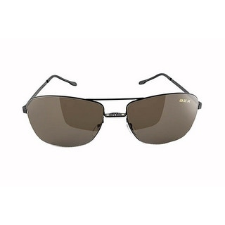 Bex Sunglasses Nylon Polarized Titanium Deklyn Black Brown D6UT5 - black brown - Medium