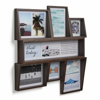 """Umbra 1005423  Edge 21-1/16"""" x 23"""" MDF Wall Mounted Picture Frame"""