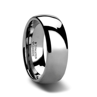 DOMINUS Domed Tungsten Carbide Ring - 7mm