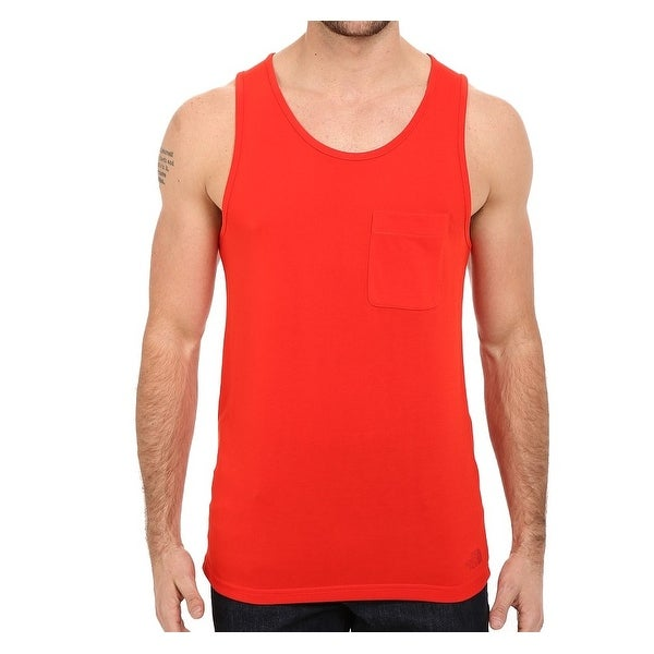 bbf79b42c7861 Shop The North Face NEW Fiery Red Mens Size Medium M Pull-Over Flash-Dry  Tank Top 222 - Free Shipping On Orders Over  45 - Overstock - 19624274