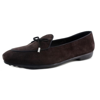Tod's Prancy Laccetto Round Toe Suede Loafer