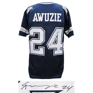 Chidobe Awuzie Navy Custom Football Jersey
