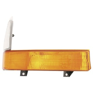 2001 Ford F-series Pickup Superduty Corner Light Signal Amber / clear LH Driver Side ( FO2520177 )