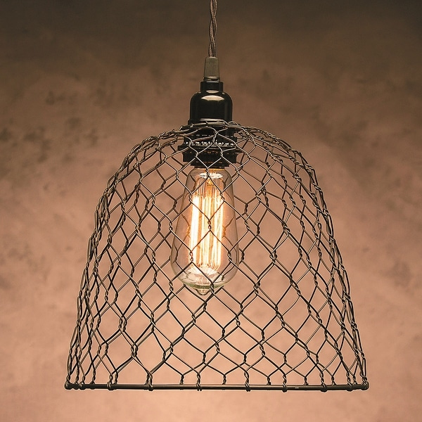 """Metal Chickenwire Dome Lampshade 10""""X8.25"""""""