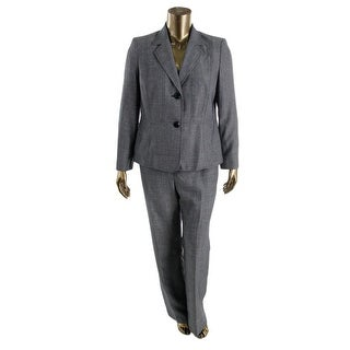 Le Suit Womens Textured 2PC Pant Suit - 16