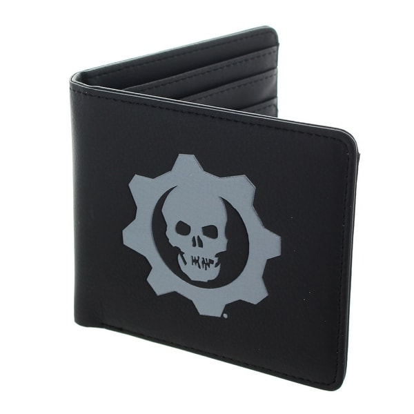 Gears of War 4 Embossed Crimson Omen Logo Bi-Fold Wallet - Multi