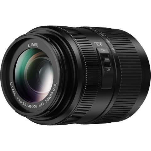 PANASONIC H-FSA45200 LUMIX G VARIO Lens,45-200mm, F4.0-5.6 II