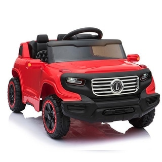 Link to Electric Stroller Ride on Toy Car 35W*1 Battery 6V7AH*1 Music Fuction With Remote Control Similar Items in Bicycles, Ride-On Toys & Scooters