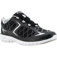 Propet Women's TravelSport Walking Shoe Black/Silver