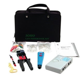 Startech.Com Professional Rj45 Network Installer Tool Kit With Carrying Case - Network Installation Kit - Network Tool T