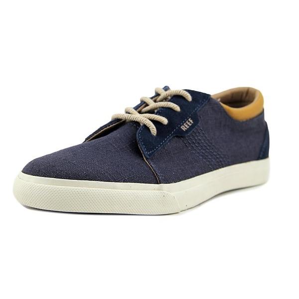 Reef RIDGE TX Men Round Toe Synthetic Blue Sneakers