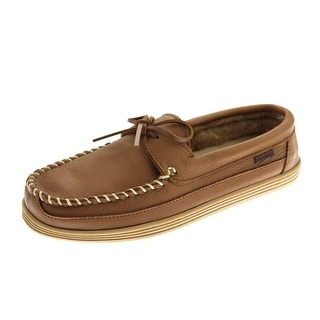 New Balance Mens Chalet Leather Lined Loafers - 11 medium (d)