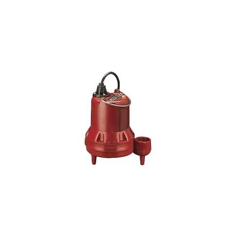 """Liberty Pumps LE41M 4/10 HP Cast Iron Sewage Pump (2"""") (Non- Automatic) -"""