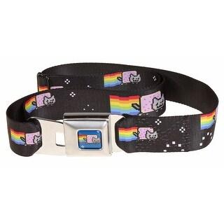 Nyan Cat Seatbelt Belt-Holds Pants Up
