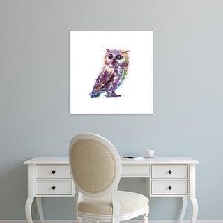 Easy Art Prints VeeBee's 'Owl' Premium Canvas Art