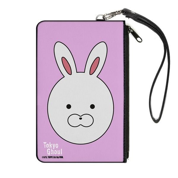 Tokyo Ghoul Touka Rabbit Mask Pink Canvas Zipper Wallet