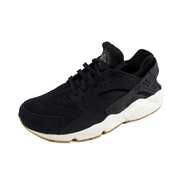online retailer 6509f 98caa Shop Nike Women's Air Huarache Run SD Black/Deep Green-Sail ...