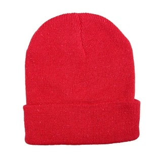 CTM® Kids' Knit Winter Cuff Stocking Cap