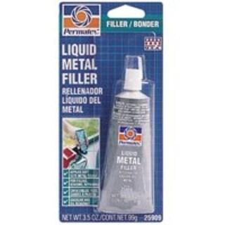 Permatex 25909 Liquid Metal Filter, 3.5 Oz Tube