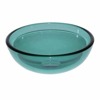 Vessel Sink Bathroom Green Glass Piccolo Mini Round 11 3/4 Renovator's Supply