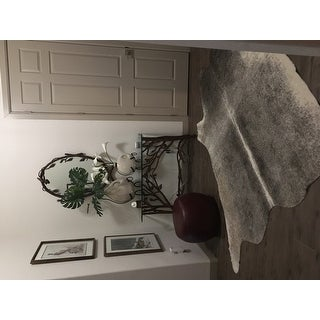 Faux Cowhide Area Rug (3 Size Options)