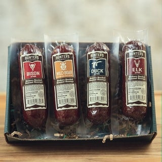 Hunters Delight Open Season Gift Box - Taste Of The Wild Summer Sausage