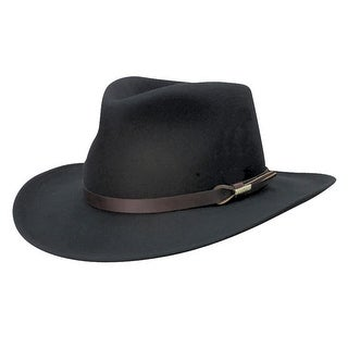 Woolrich Crushable Wool Felt Outback Hat