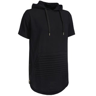 NE PEOPLE Mens Hipster Hip Hop T-shirts with Side Zippers [NEMT92]