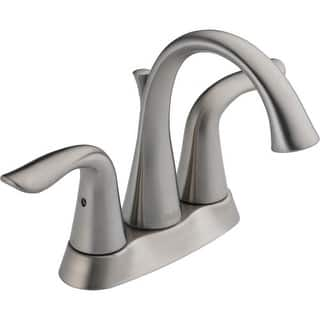 Delta 2538 MPU DST Lahara Centerset Bathroom Faucet with Pop Up Drain  Assembly. Centerset Bathroom Faucets For Less   Overstock com